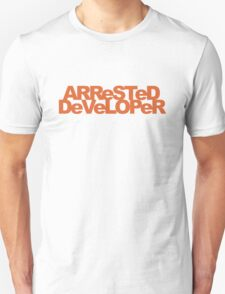 ARReSTeD DeVeLOPeR - Programmer Pun T-Shirt