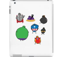The Avengebirbs + Winter Birb iPad Case/Skin