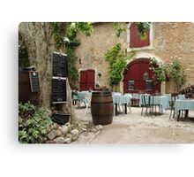 Al Fresco. Canvas Print