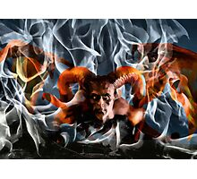 Fire And Brimstone Photographic Print