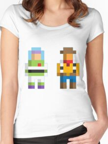 Retro Toy Story Women's Fitted Scoop T-Shirt