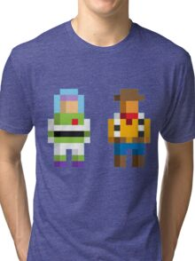 Retro Toy Story Tri-blend T-Shirt