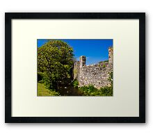 St Davids Abbey Walls Framed Print