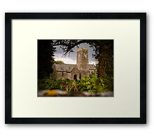 St Michaels Church Castlemartin Framed Print