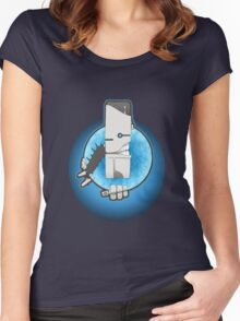 Good Sir Robothead Women's Fitted Scoop T-Shirt