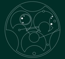 Team Free Will - Gallifreyan (White) by castashadow