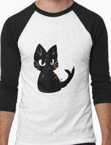 Chibi Nekomata (Alternative) Men's Baseball ¾ T-Shirt