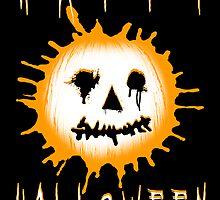 happy halloween jack-o-lantern by maydaze