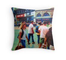 Piccadilly Street Scene 2 Throw Pillow