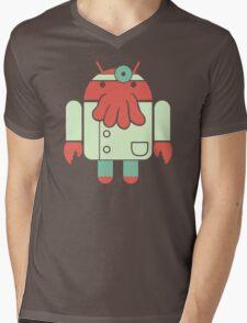 Droidberg Mens V-Neck T-Shirt