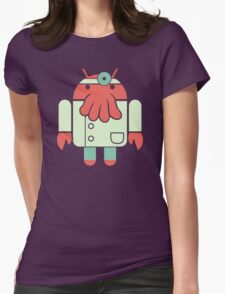 Droidberg Womens Fitted T-Shirt