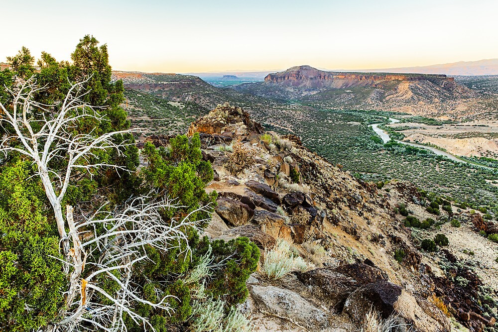 White Rock Overlook by Harry H Hicklin