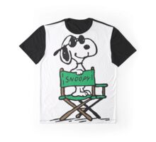 Snoopy Movie Graphic T-Shirt