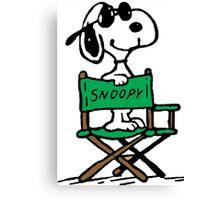 Snoopy Movie Canvas Print