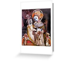 Madonna with Christ Child 30 [something.] Greeting Card