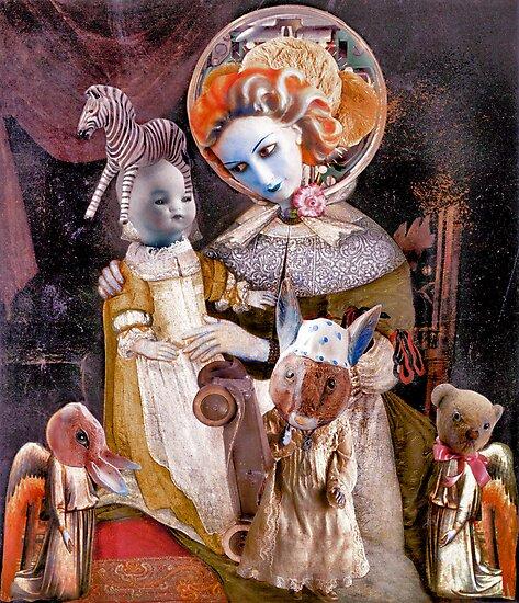 Madonna with Christ Child 30 [something.] by Andreav Nawroski