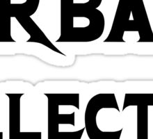 Garbage Collector - Metal Style Design for Programmers Black Font Sticker