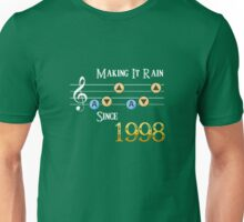 Legend of Zelda Ocarina of Time: Making It Rain Since 1998 Unisex T-Shirt