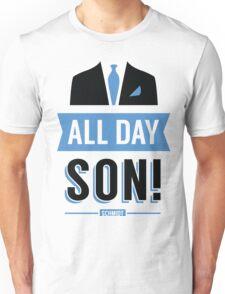 All Day Son Schmidt Tshirt | New Girl T-Shirt Tee Nick Miller Cece Winston Jess TV Quote Meme Gift Him Her douchebag jar Schmidt Happens uk Unisex T-Shirt