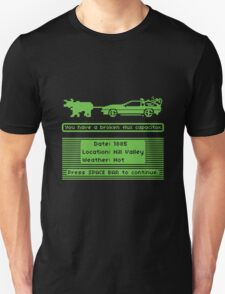 The Delorean Trail Unisex T-Shirt