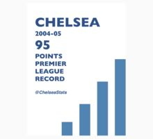 95 Points Premier League Record - Chelsea 2004/05 Kids Tee