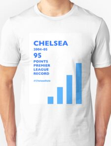 95 Points Premier League Record - Chelsea 2004/05 Unisex T-Shirt