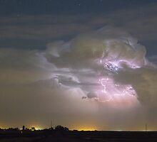 Cumulonimbus Cloud Explosion by Bo Insogna