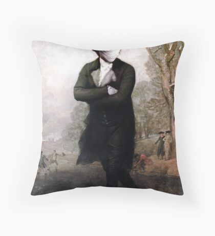 Ice Caps are Still Melting (who cares.) Throw Pillow