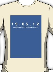 Chelsea FC. London's First London's Finest. 19th May 2012 T-Shirt