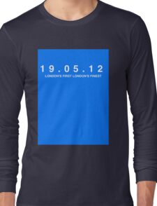 Chelsea FC. London's First London's Finest. 19th May 2012 Long Sleeve T-Shirt