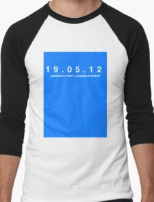 Chelsea FC. London's First London's Finest. 19th May 2012 Men's Baseball ¾ T-Shirt