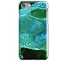 Kale Water Droplet iPhone Case/Skin