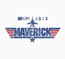Custom Top Gun Style - Avalon Maverick One Piece - Short Sleeve