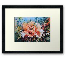 Everythings Peachy Framed Print