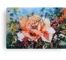 Everythings Peachy Canvas Print
