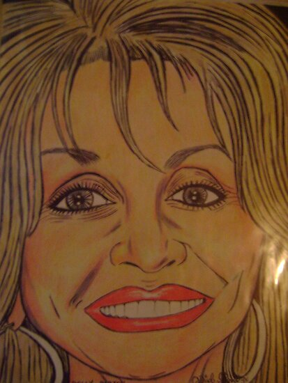 Dolly parton by odinel  pierre junior