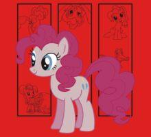Pinkie Pie Tee One Piece - Short Sleeve
