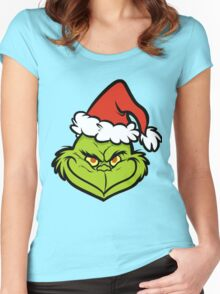 the Grinch Women's Fitted Scoop T-Shirt