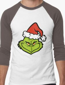 the Grinch Men's Baseball ¾ T-Shirt