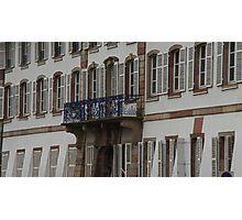 the balcony Photographic Print