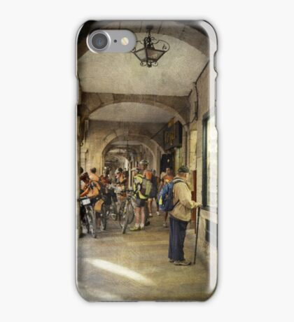 The showcase and the bikers iPhone Case/Skin