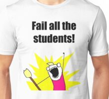 Funny Ragestache Shirt or Sticker for Teachers Unisex T-Shirt
