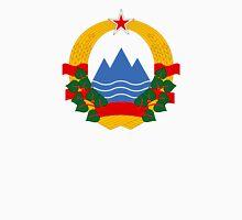 Coat of Arms of Socialist Republic of Slovenia, 1945-1991 Unisex T-Shirt