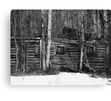 Old House - British Columbia Canada Canvas Print