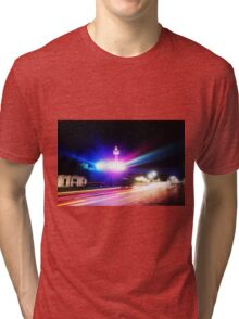 Niagara falls, night photography Tri-blend T-Shirt