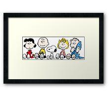 Best Peanuts Framed Print