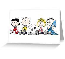 Best Peanuts Greeting Card