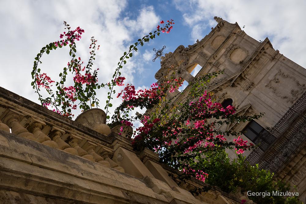 Sky  Blossoms by Georgia Mizuleva