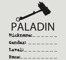 MMORPG Paladin by rising94