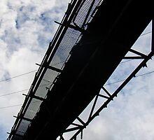 abandoned coal conveyor by Alaric Lubaczewski